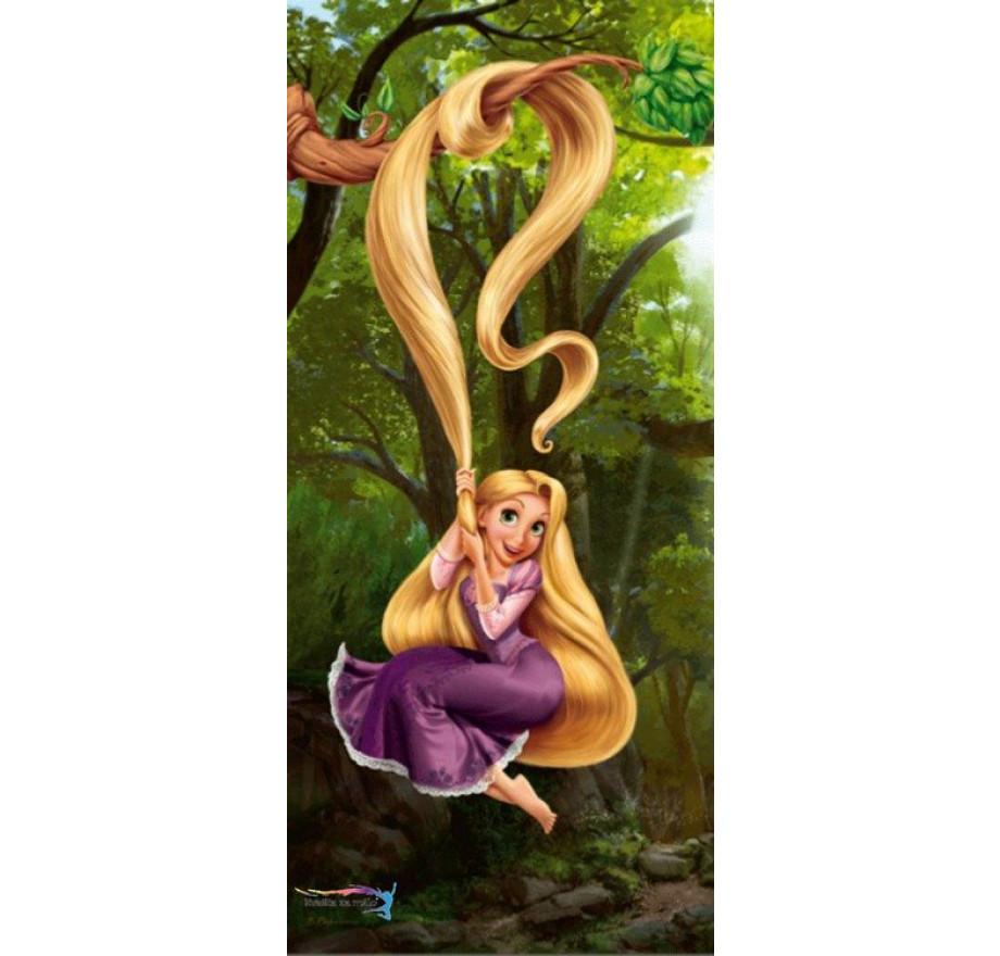 f8e8581a1ef4d Foto-tapeta Princezná Rapunzel 2 92x202