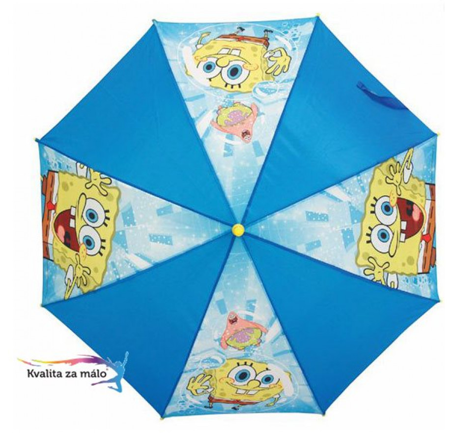 4a3567744b Vystreľovací dáždnik SpongeBob