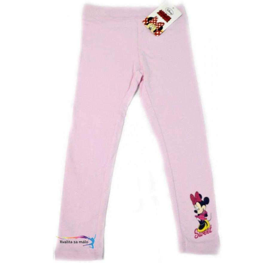 38ace76075d2 Disney Detské Legíny Minnie ružové