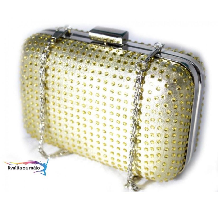 bb945343cf Nuova Sissi Spoločenská kabelka zlatá