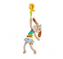 Plyšová hračka s vibráciou PSÍK Plyš, 33 cm