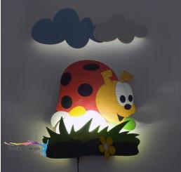 LED Lampička Lienka s diaľkovým ovládaním