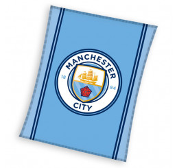Fleece deka Manchester City 110x140