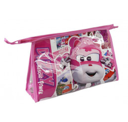 Kozmetická taška vybavená Super Wings ružová