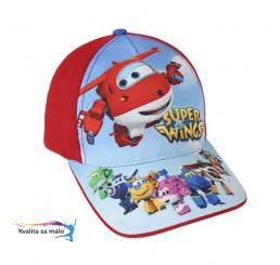 Šiltovka Super Wings červená veľ. 53