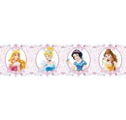 Samolepiaca bordúra Princezné papier 14 cm x 5 m