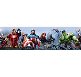 Samolepiaca bordúra Avengers papier 14 cm x 5 m