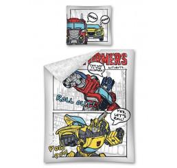 Obliečky Transformers komiks Bavlna, 140x200, 70x80 cm