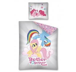 Obliečky My Little Pony grey Bavlna, 140x200, 70x80 cm