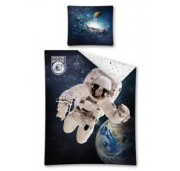 Obliečky Kozmonaut Bavlna, 140x200, 70x80 cm