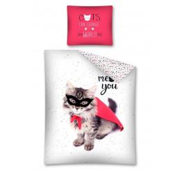 Obliečky Mačka Zoro 140x200, 70x80