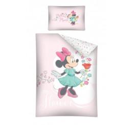 Obliečky do postieľky Minnie pink 100x135, 40x60