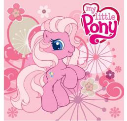 Magický uterák My Little Pony ružový 30x30