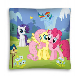 Obliečka na vankúšik My Little Pony lúka micro Polyester, 40x40 cm