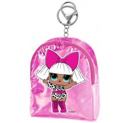 Kľúčenka LOL Pink Polyester, 9x7x5 cm