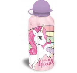 Hliníková fľaša Jednorožec Dúha 500 ml