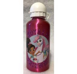 Hliníková fľaša Princezná Nella friends Hliník, Plast, 500 ml