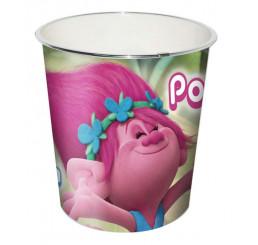 Odpadkový kôš Trollovia Poppy plast 24x22x17 cm