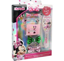 Doplnky do vlasov v darčekovej krabičke Minnie Happy