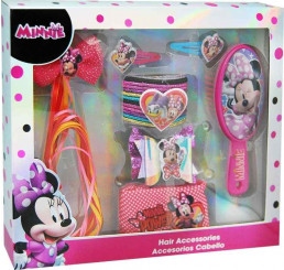 Doplnky do vlasov v darčekovej krabičke Minnie