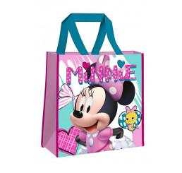 Detská nákupná taška Minnie hearts Polypropylén, 38 cm