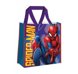 Detská nákupná taška Spiderman Polypropylén, 38 cm