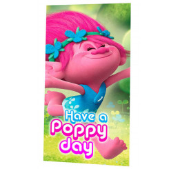 Osuška mikro Trollovia Poppy 70x140