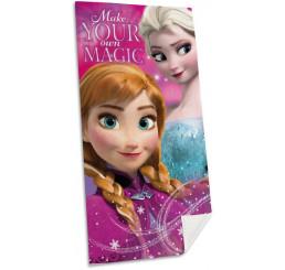 Osuška Ľadové Kráľovstvo Anna a Elsa 70x140