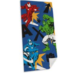 Osuška Avengers blue 75x150