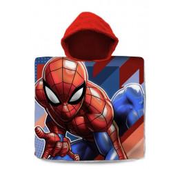 Pončo Spiderman pruhy 60x120
