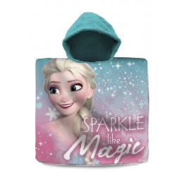 Pončo Ľadové Kráľovstvo Elsa Magic 60x120