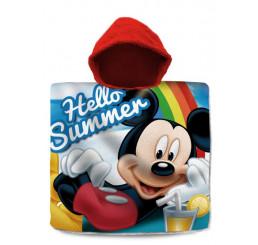 Pončo Mickey Summer 60x120