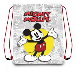 Taška na telocvik a prezuvky Mickey klasik Polyester, 41x33 cm