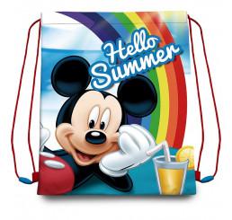 Taška na telocvik a prezuvky Mickey Summer Polyester, 41x33 cm