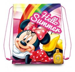 Taška na telocvik a prezuvky Minnie Summer Polyester, 41x33 cm