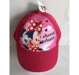 Šiltovka Minnie ružová veľ.54 Polyester