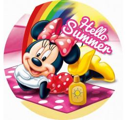 Tvarovaná Micro osuška Minnie Summer 120 cm