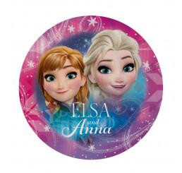 Tvarovaná Micro osuška Ľadové Kráľovstvo Anna a Elsa 120 cm
