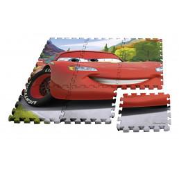 Podlahové penové puzzle Cars Eva, 9 dielov