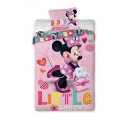 Obliečky Minnie happy Bavlna 140x200, 70x90 cm