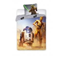 Obliečky Star Wars R2-D2 Bavlna 140x200, 70x90 cm