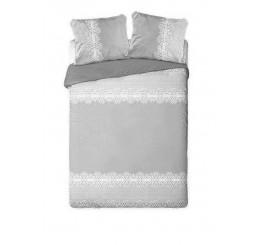 Francúzske obliečky Vintage šedá Bavlna, 220x200, 2x70x80 cm