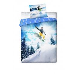 Obliečky Snowboardista 140x200, 70x90
