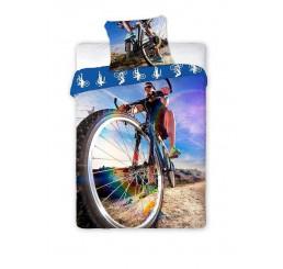 Obliečky Bicyklista 140x200, 70x90
