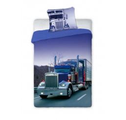 Obliečky Kamión Bavlna, 140x200, 70x90 cm