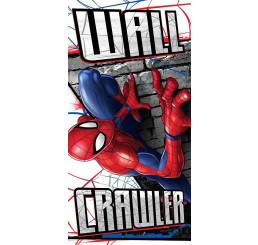 Osuška Spiderman stena Bavlna - Froté, 70x140 cm