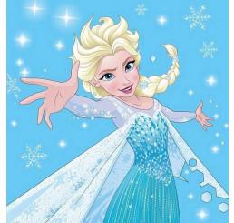 Magický uteráčik Ľadové Kráľovstvo Elsa 30x30