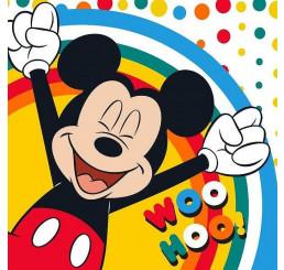 Magický uteráčik Mickey Happy 30x30