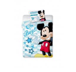 Obliečky do postieľky Mickey Mouse 100x135, 40x60