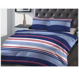 Francúzske obliečky bavlnený satén Antonio 220x200, 2x70x80